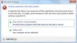 20120304 windows detected a hard disk problem.jpg
