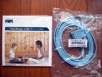 Cisco RJ-45 to DB-9 メス型ケーブル 72-3383-01